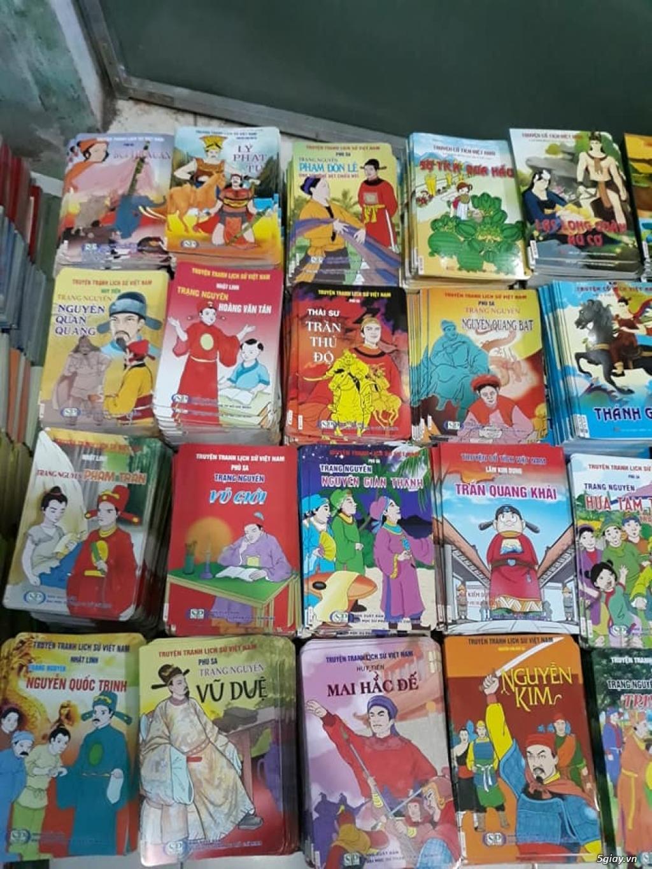 Bộ truyện tranh màu lịch sử, cổ tích Việt Nam cho trẻ đọc End: 23h 10/11/19 - 2