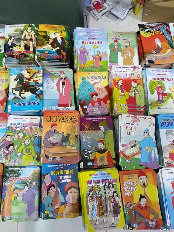 Bộ truyện tranh màu lịch sử, cổ tích Việt Nam cho trẻ đọc End: 23h 10/11/19 - 1