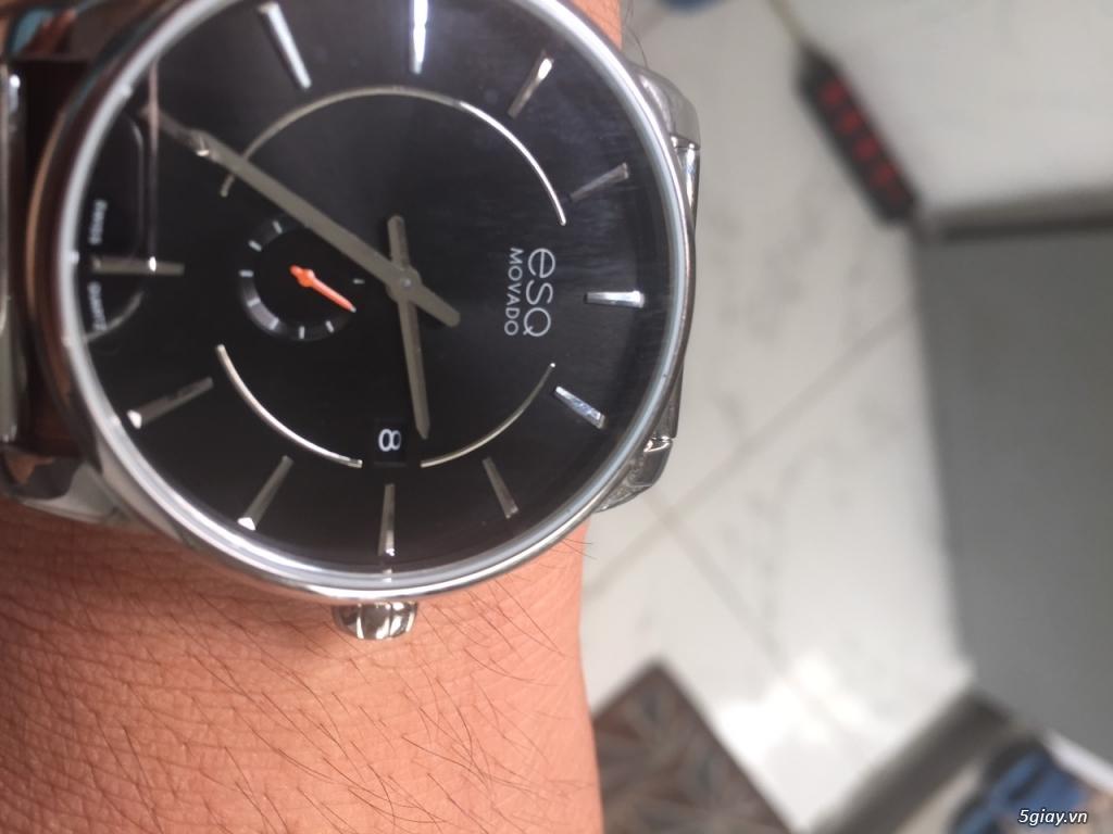 Cần bán đồng hồ rolex nhật bản  - đồng hồ movado chính hãng giá bèo - 10