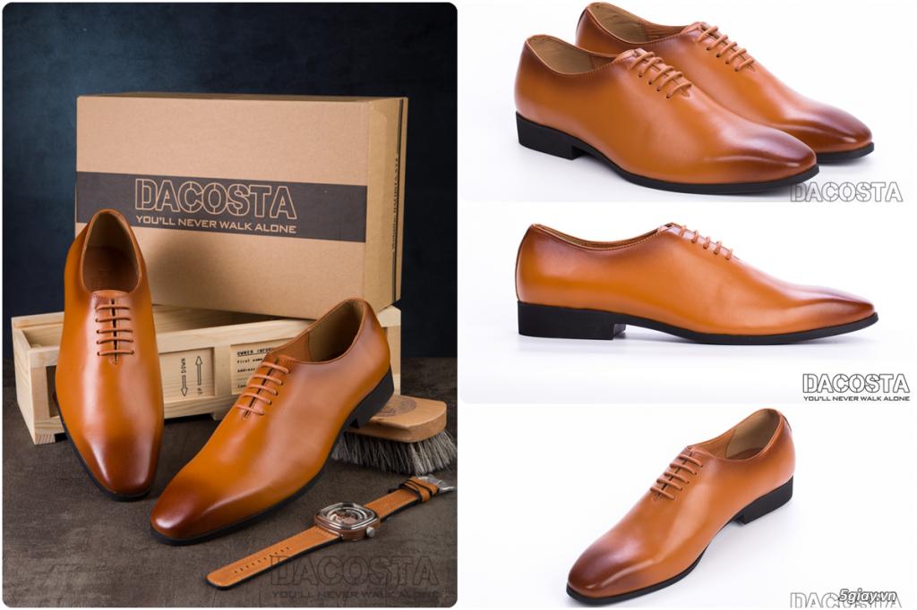 Những Mẫu Giày Tây Nam Kinh Điển 2019 Oxford - Derby - Loafer - Giá Siêu Tốt - [Tiệm Giày Dacosta] - 9