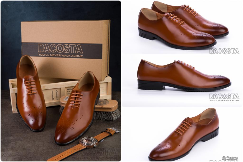 Những Mẫu Giày Tây Nam Kinh Điển 2019 Oxford - Derby - Loafer - Giá Siêu Tốt - [Tiệm Giày Dacosta] - 6