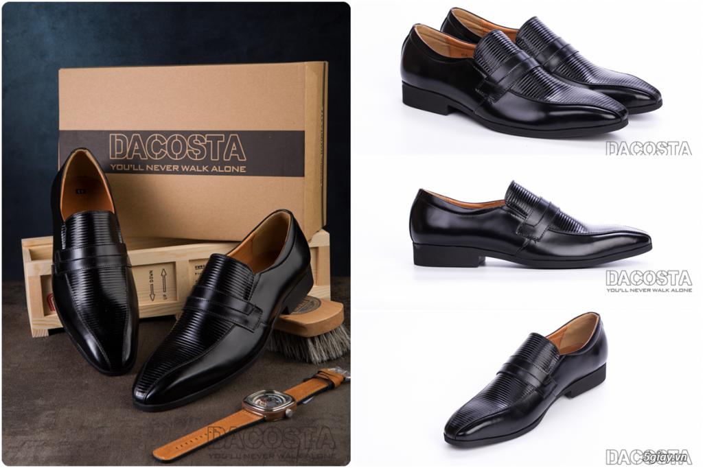 Những Mẫu Giày Tây Nam Kinh Điển 2019 Oxford - Derby - Loafer - Giá Siêu Tốt - [Tiệm Giày Dacosta] - 39