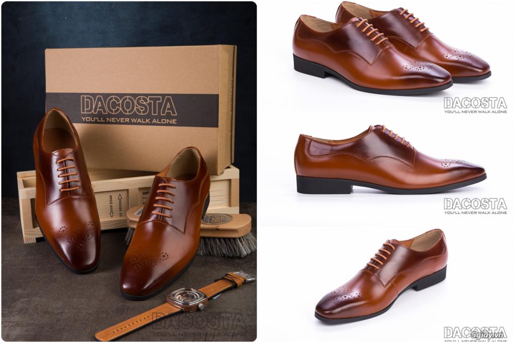 Những Mẫu Giày Tây Nam Kinh Điển 2019 Oxford - Derby - Loafer - Giá Siêu Tốt - [Tiệm Giày Dacosta] - 19
