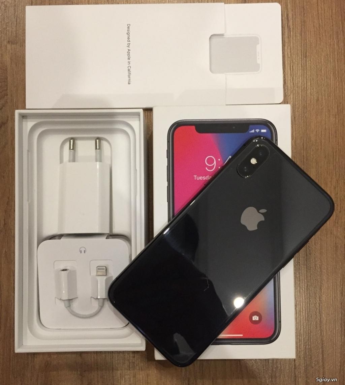Iphone X 64GB màu đen chính hãng bản quốc tế - 2