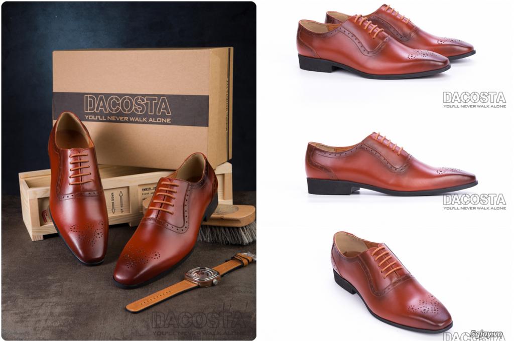 Những Mẫu Giày Tây Nam Kinh Điển 2019 Oxford - Derby - Loafer - Giá Siêu Tốt - [Tiệm Giày Dacosta] - 16