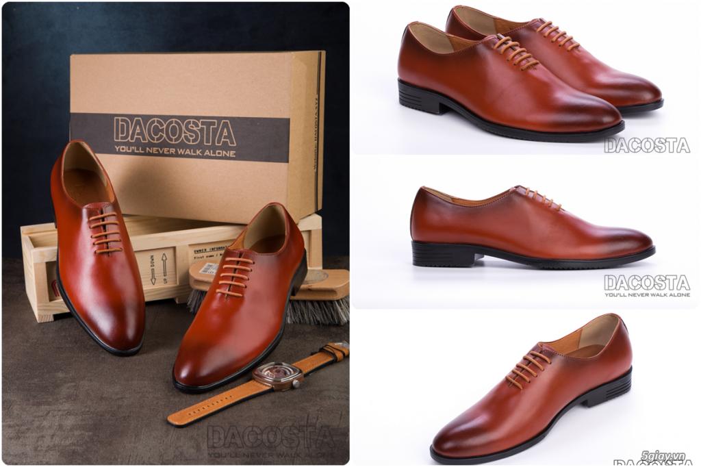 Những Mẫu Giày Tây Nam Kinh Điển 2019 Oxford - Derby - Loafer - Giá Siêu Tốt - [Tiệm Giày Dacosta] - 13