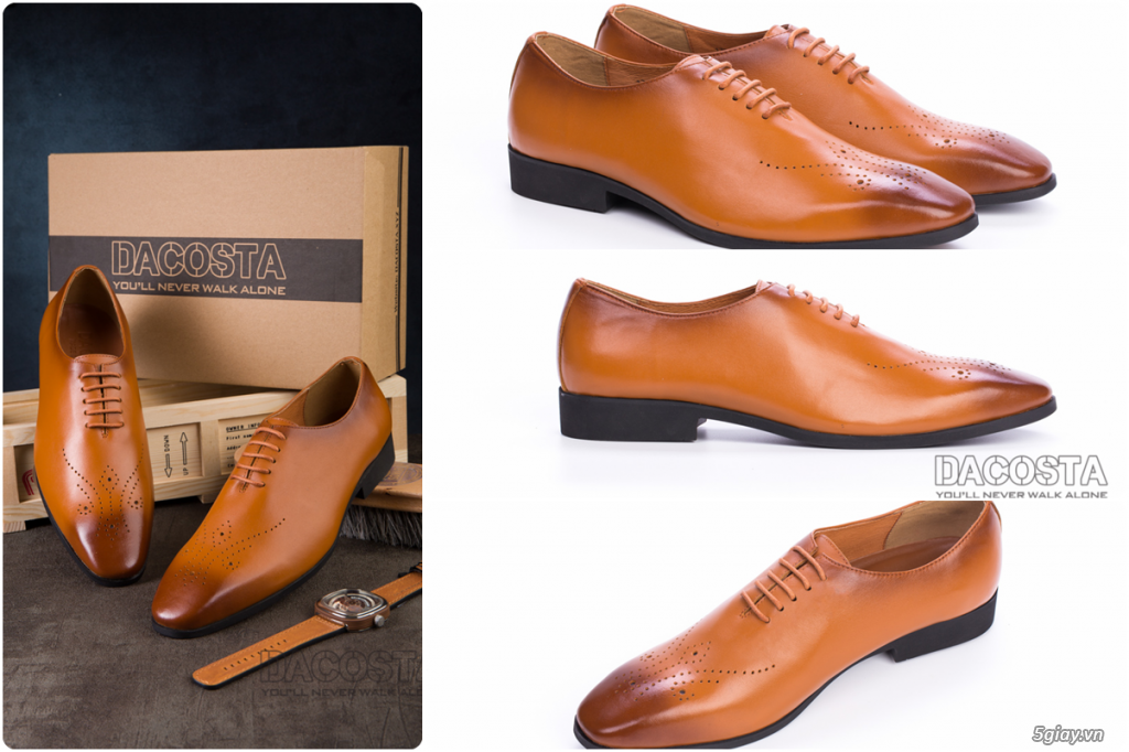 Những Mẫu Giày Tây Nam Kinh Điển 2019 Oxford - Derby - Loafer - Giá Siêu Tốt - [Tiệm Giày Dacosta] - 4