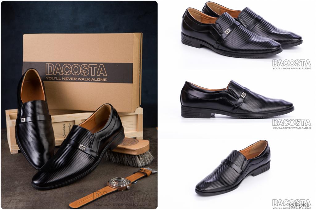 Những Mẫu Giày Tây Nam Kinh Điển 2019 Oxford - Derby - Loafer - Giá Siêu Tốt - [Tiệm Giày Dacosta] - 36