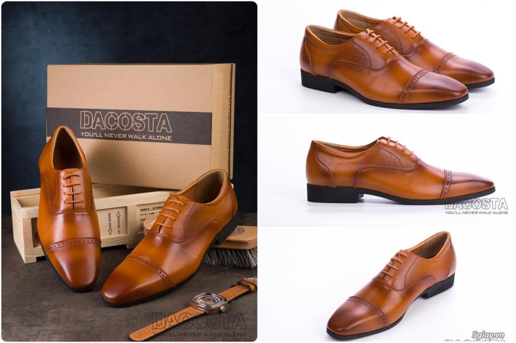 Những Mẫu Giày Tây Nam Kinh Điển 2019 Oxford - Derby - Loafer - Giá Siêu Tốt - [Tiệm Giày Dacosta] - 29