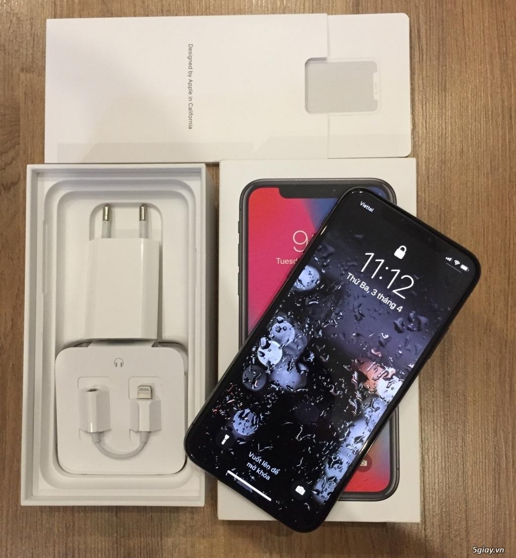 Iphone X 64GB màu đen chính hãng bản quốc tế