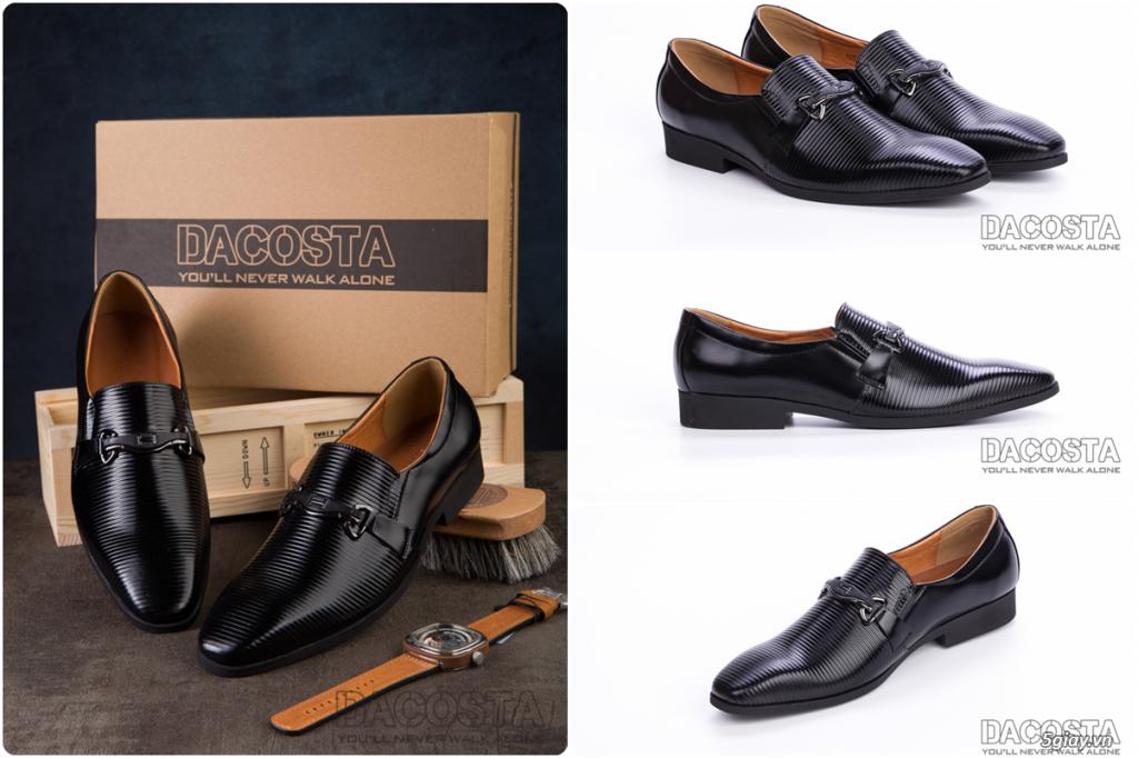 Những Mẫu Giày Tây Nam Kinh Điển 2019 Oxford - Derby - Loafer - Giá Siêu Tốt - [Tiệm Giày Dacosta] - 37