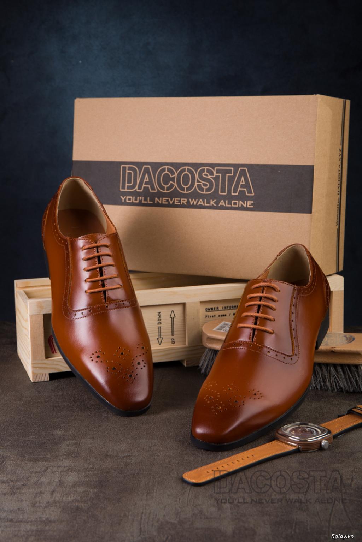 Tiệm Giày Dacosta - Những Mẫu Giày Tây Oxford Hot Nhất 2019 - 30