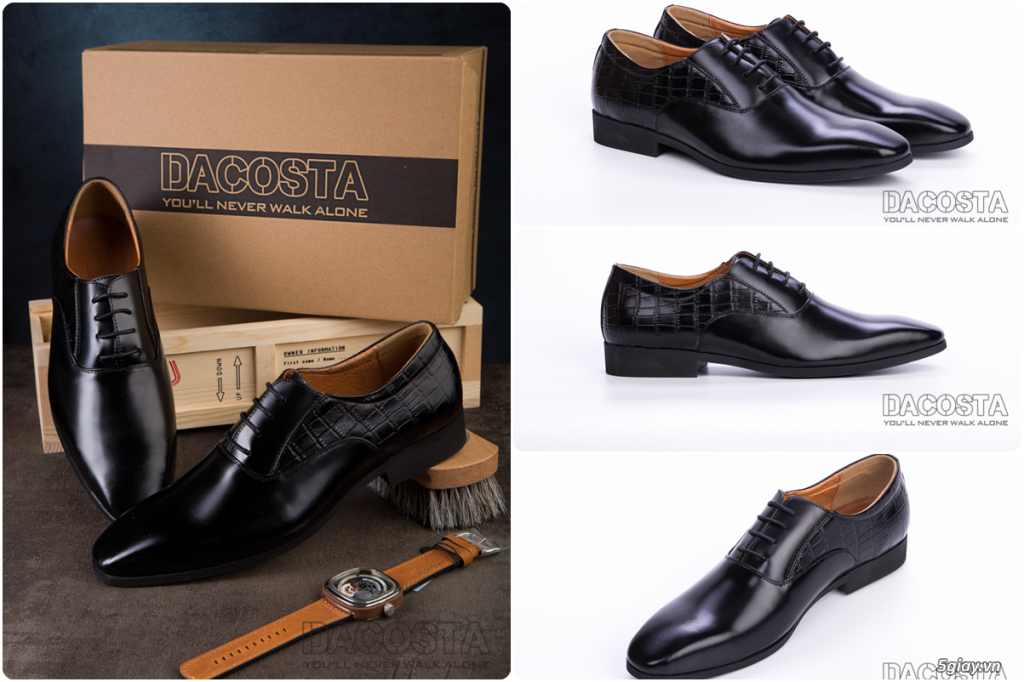 Những Mẫu Giày Tây Nam Kinh Điển 2019 Oxford - Derby - Loafer - Giá Siêu Tốt - [Tiệm Giày Dacosta] - 27