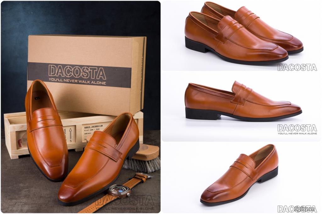 Những Mẫu Giày Tây Nam Kinh Điển 2019 Oxford - Derby - Loafer - Giá Siêu Tốt - [Tiệm Giày Dacosta] - 41