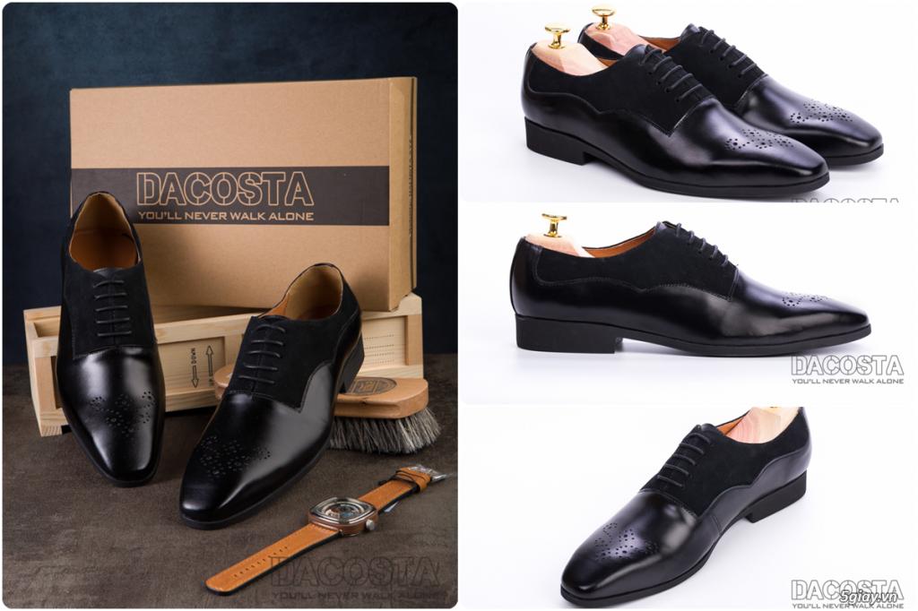 Những Mẫu Giày Tây Nam Kinh Điển 2019 Oxford - Derby - Loafer - Giá Siêu Tốt - [Tiệm Giày Dacosta] - 22