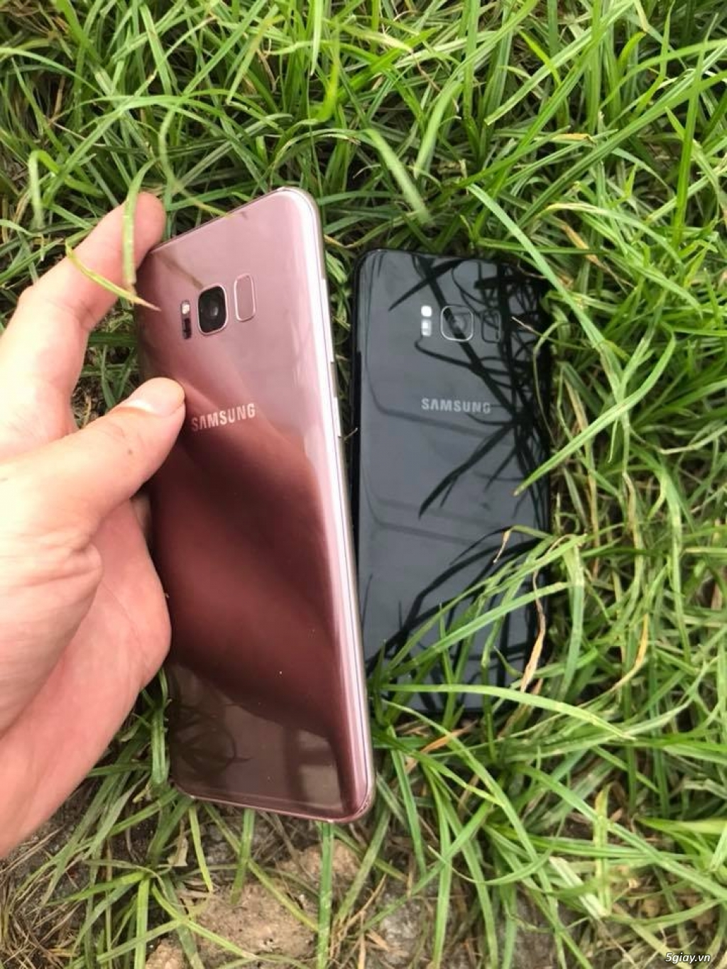 Samsung Galaxy S8 Plus 2 sim đep 98-99% - 2