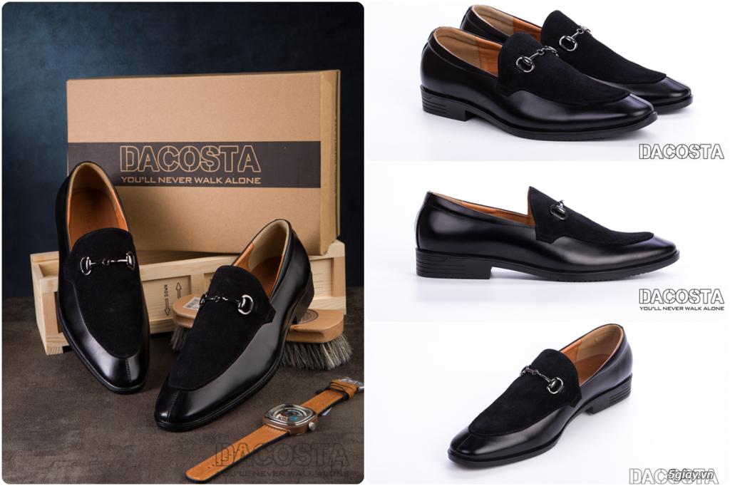 Những Mẫu Giày Tây Nam Kinh Điển 2019 Oxford - Derby - Loafer - Giá Siêu Tốt - [Tiệm Giày Dacosta] - 38