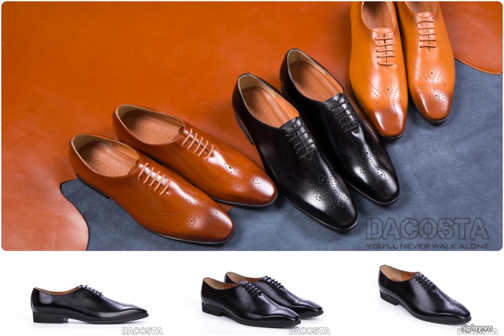 Những Mẫu Giày Tây Nam Kinh Điển 2019 Oxford - Derby - Loafer - Giá Siêu Tốt - [Tiệm Giày Dacosta] - 2