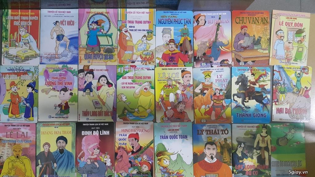 Bộ truyện tranh màu lịch sử, cổ tích Việt Nam cho trẻ đọc End: 23h 10/11/19 - 5