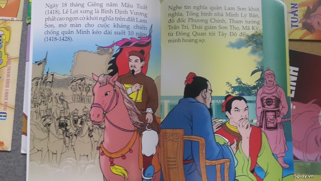 Bộ truyện tranh màu lịch sử, cổ tích Việt Nam cho trẻ đọc End: 23h 10/11/19 - 6