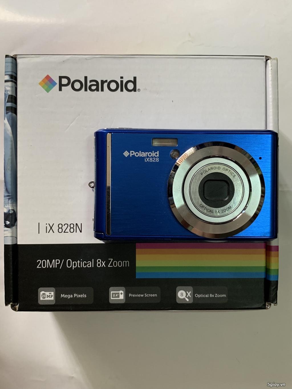 Máy ảnh Polariod iX828 20 MP, Zoom 8X chính hãng, end 23h00 22/09/2019 - 2