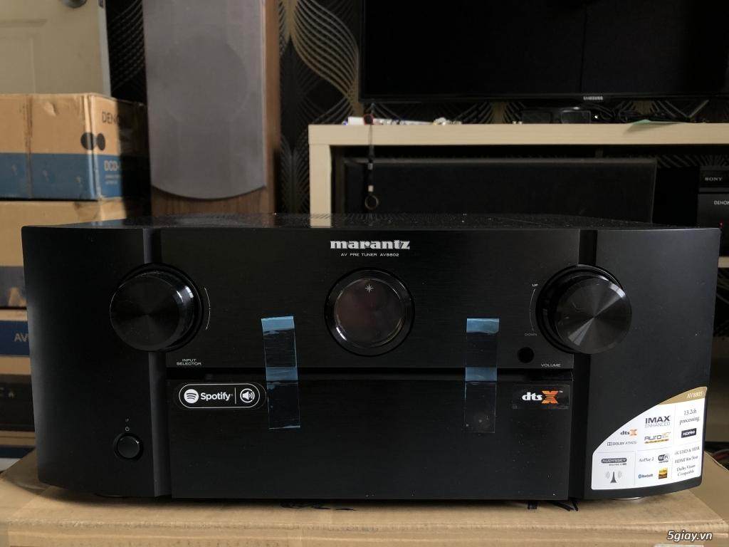 Receiver và ampli (nghe nhạc & xem phim-3D-dtsHD-trueHD-HDMA)loa-center-sub-surround. - 8