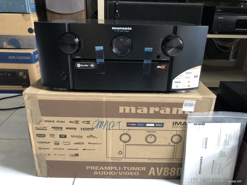 Receiver và ampli (nghe nhạc & xem phim-3D-dtsHD-trueHD-HDMA)loa-center-sub-surround. - 7