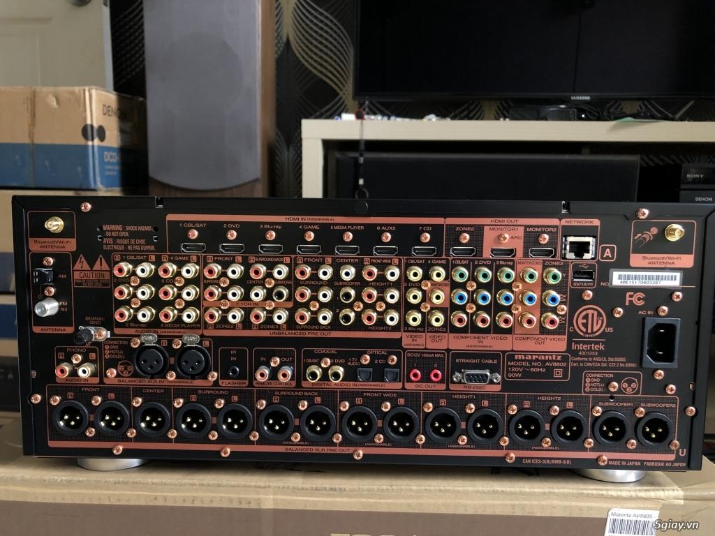 Receiver và ampli (nghe nhạc & xem phim-3D-dtsHD-trueHD-HDMA)loa-center-sub-surround. - 9