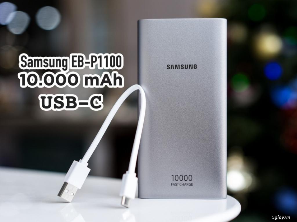 Pin sạc dự phòng chính hãng SAMSUNG 10.000mAh type C 2019 - 1