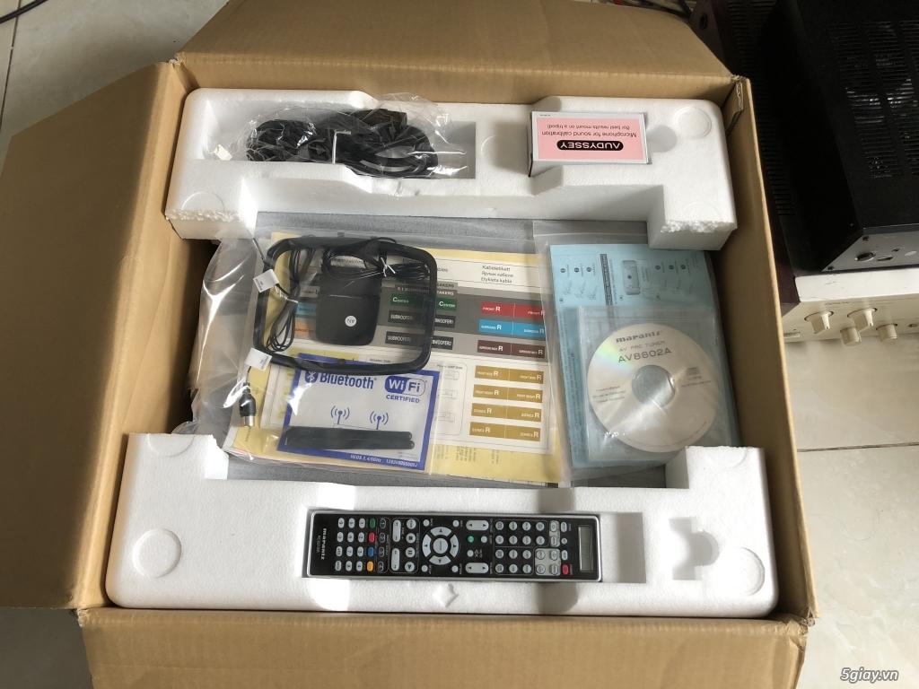 Receiver và ampli (nghe nhạc & xem phim-3D-dtsHD-trueHD-HDMA)loa-center-sub-surround. - 10