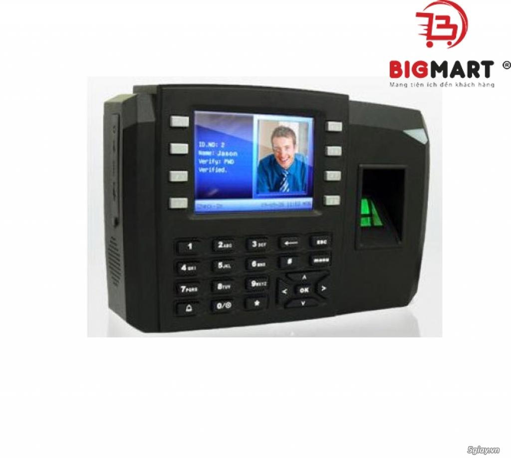 Máy chấm công vân tay và thẻ cảm ứng RONALD JACK TFT 600 - 1