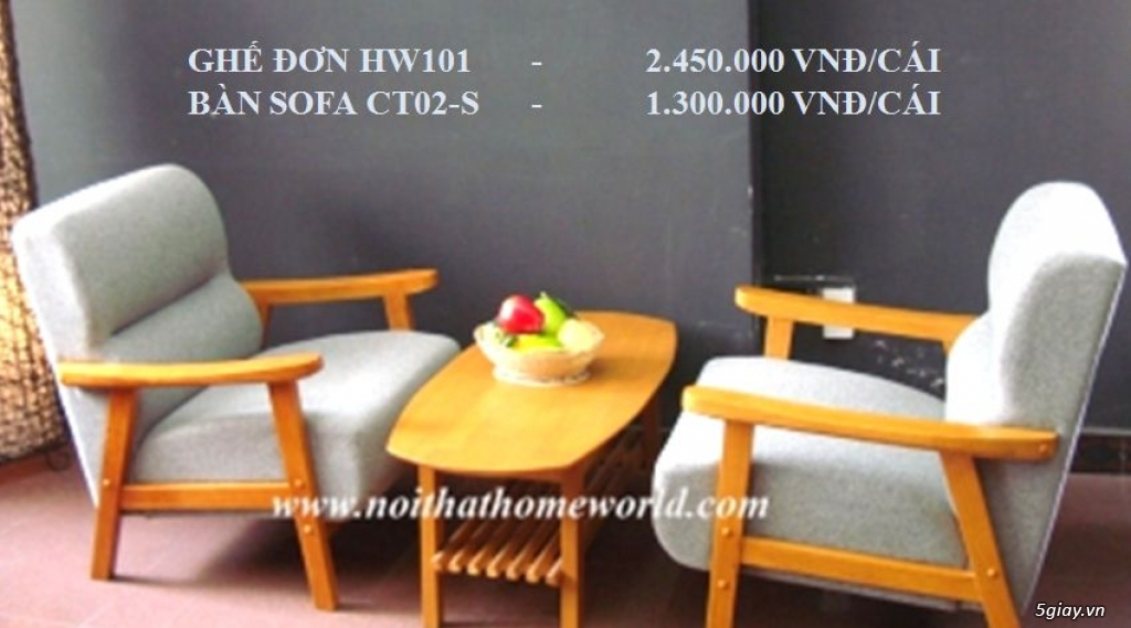 SOFA PHÒNG KHÁCH - NỘI THẤT HOMEWORLD - 20