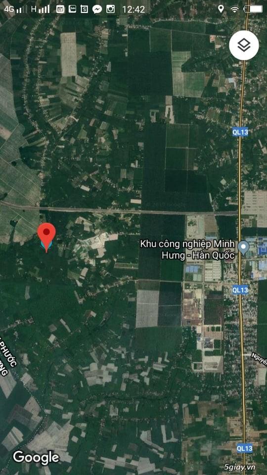 Cần Bán: 1000m2 Đất Chơn Thành chỉ 380 triệu ngay KCN Minh Hưng 3