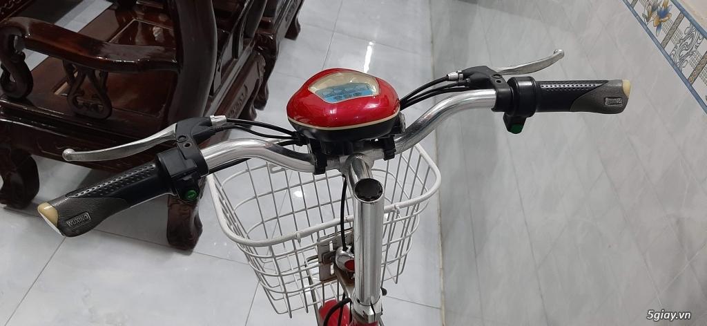 Xe đạp điện HKBike đang chạy rất tốt, đẹp trên 90% - 5