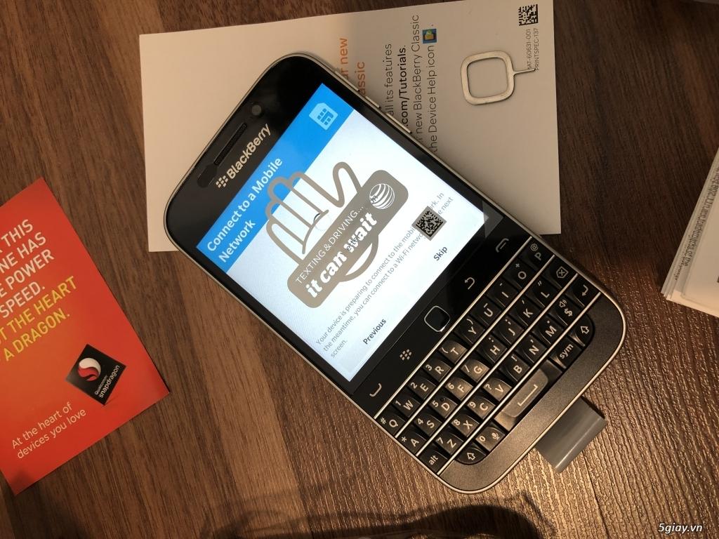 Blackberry Classic nhà mạng Mẽo AT & T NEW nguyên hộp - 9