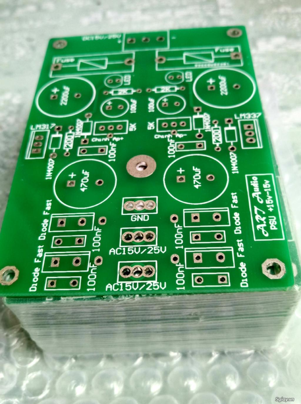 Linh kiện điện tử, PCB và DIY kit cho High-end Audio . ART Audio - 30