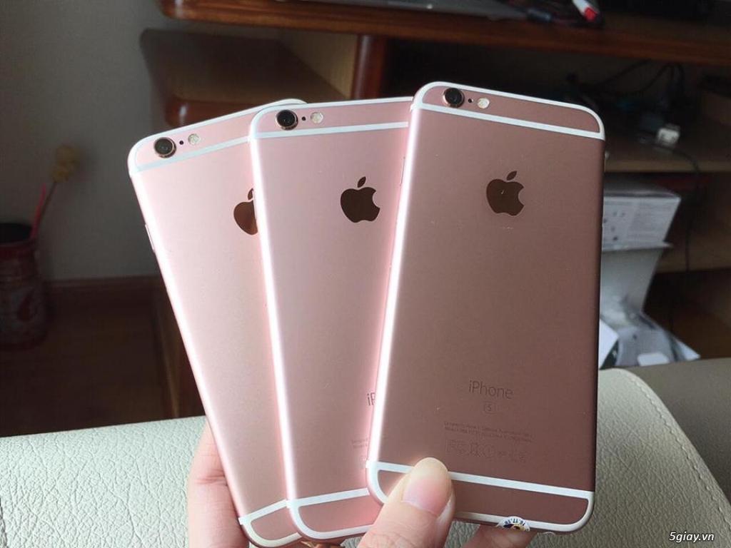 Cấu hình mượt mà+Gía SV=iPhone 6S-32G/Quốc Tế-Hồng.Mới 98-99%.Zin100% - 1