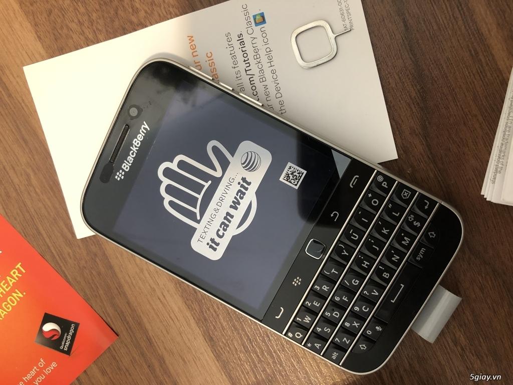Blackberry Classic nhà mạng Mẽo AT & T NEW nguyên hộp - 8