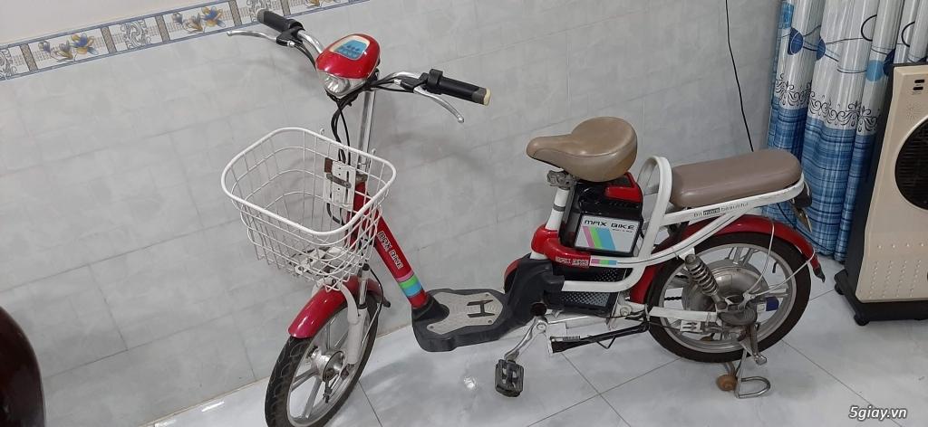 Xe đạp điện HKBike đang chạy rất tốt, đẹp trên 90%
