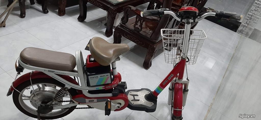 Xe đạp điện HKBike đang chạy rất tốt, đẹp trên 90% - 1
