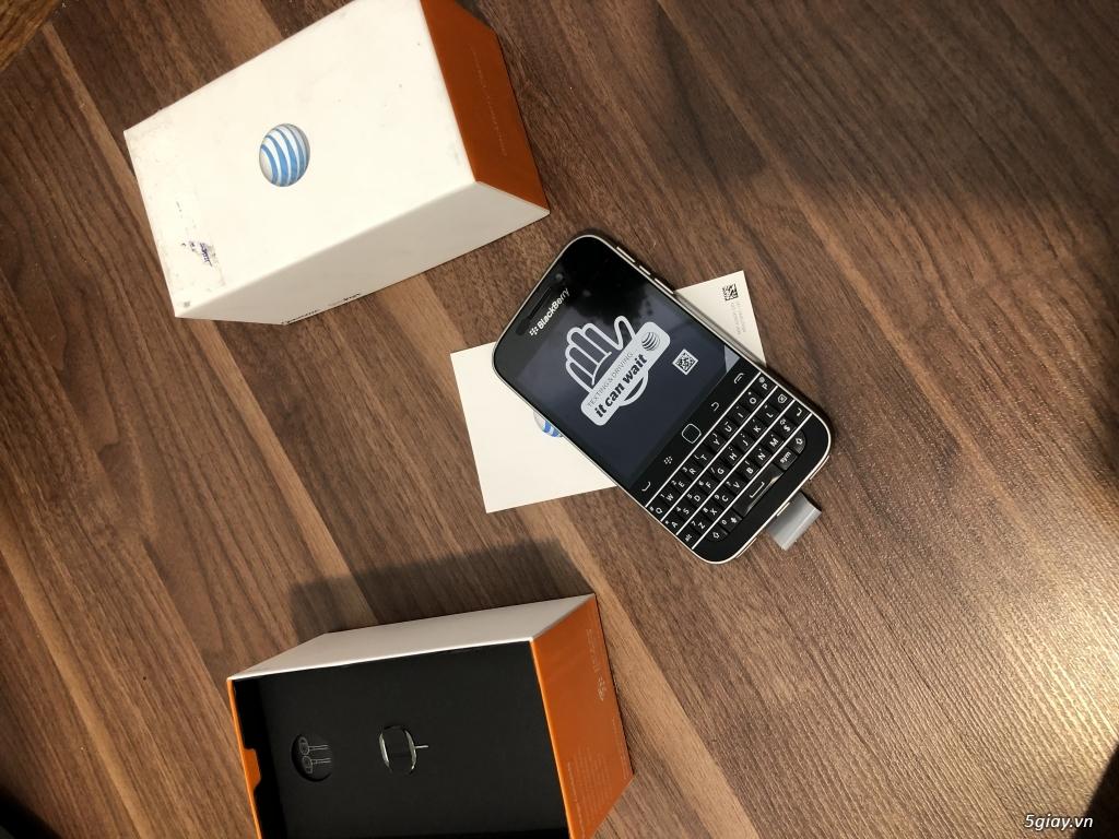 Blackberry Classic nhà mạng Mẽo AT & T NEW nguyên hộp - 2