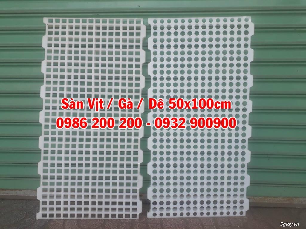 Tấm Nhựa Lót Sàn Vịt , Sàn Gà, Sàn Ngan, Sàn Dê giá rẻ - 20