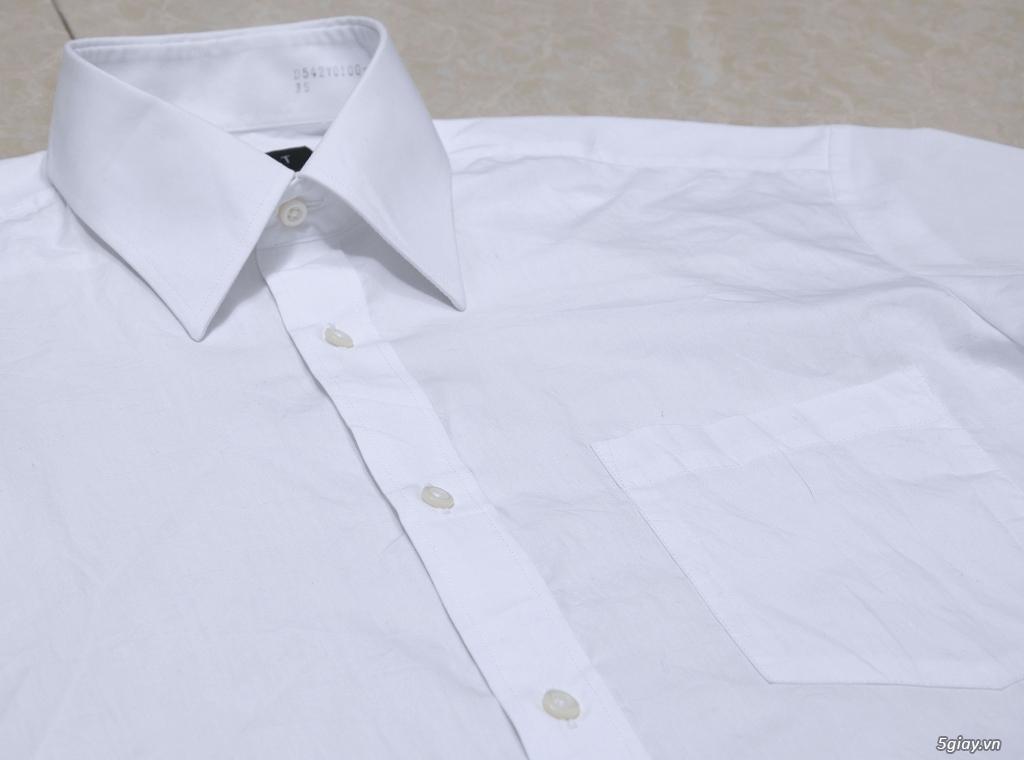 5 áo sơ mi trắng Japan chuẩn công sở mời anh em Bid khởi điểm 120k/ms ET 22h59' - 25/8/2019 - 9