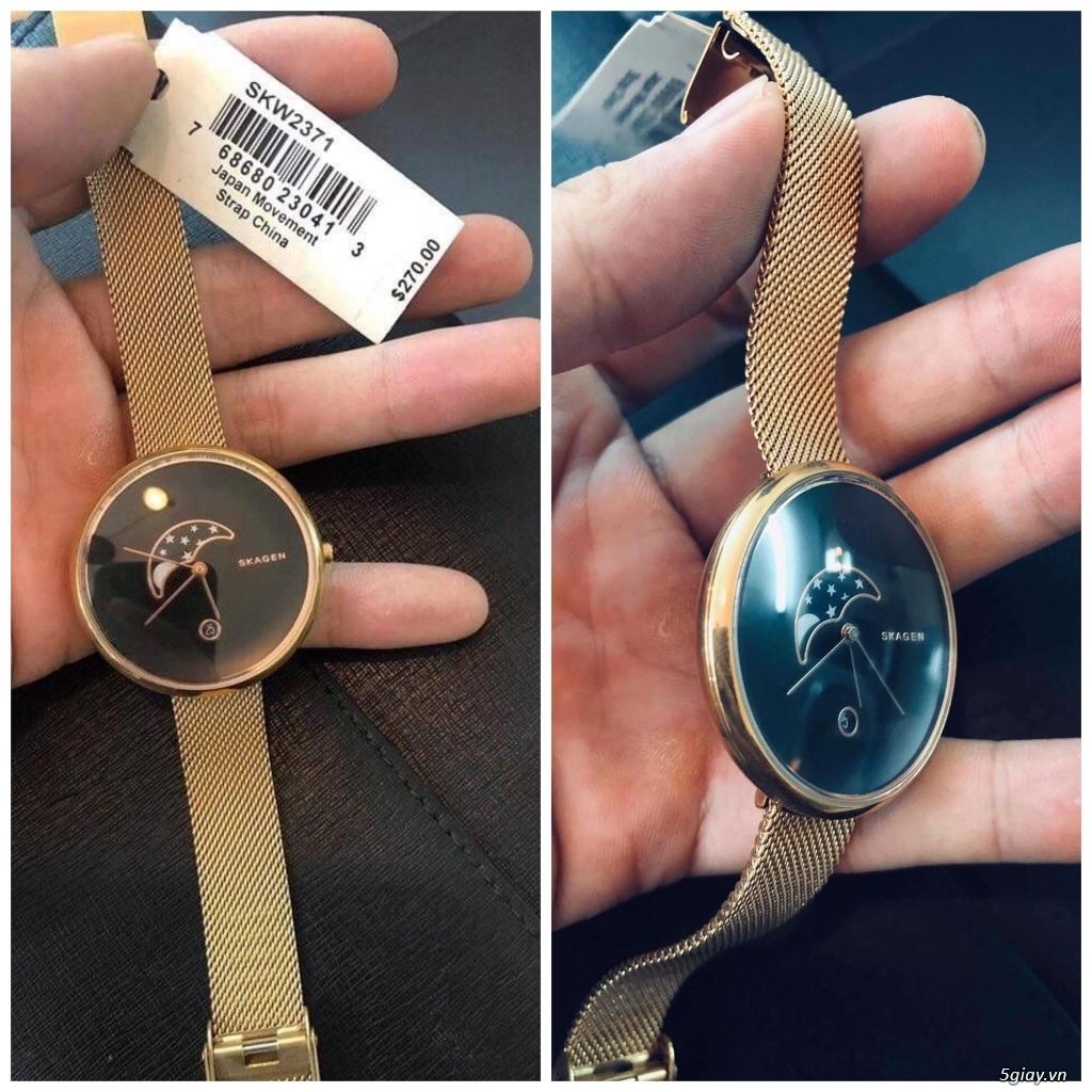 Chuyên đồng hồ Michaek Kors, Burberry, Armani, Skakgen chính hãng - 12