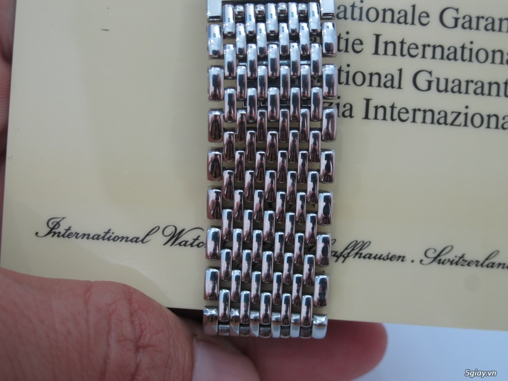 đồng hồ IWC schaffhausen automatic fullbox hộp thẻ - 4