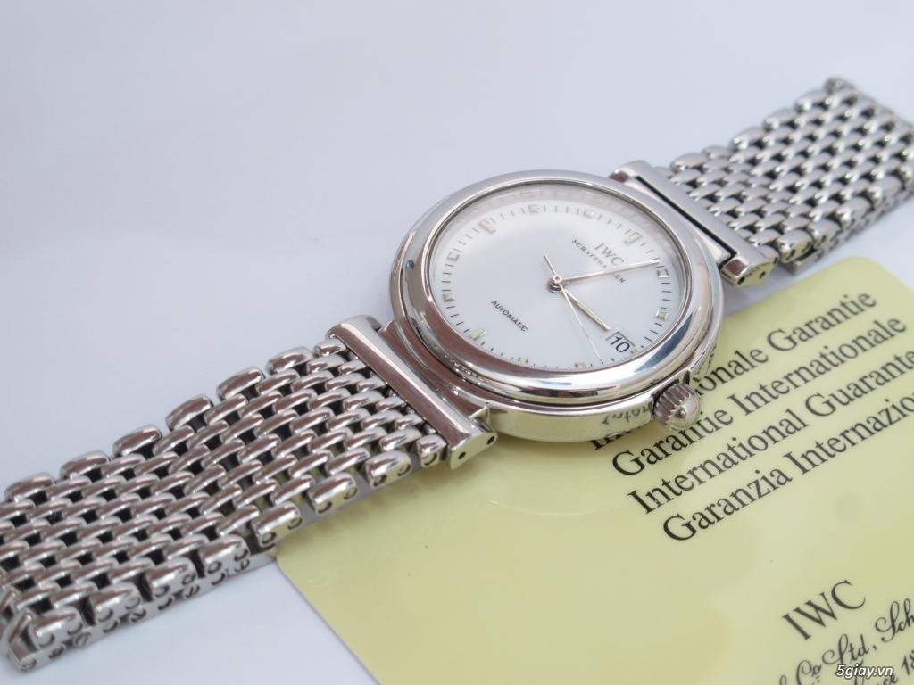 đồng hồ IWC schaffhausen automatic fullbox hộp thẻ - 11