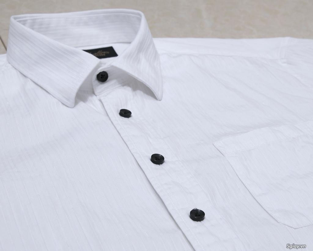 5 áo sơ mi trắng Japan chuẩn công sở mời anh em Bid khởi điểm 120k/ms ET 22h59' - 18/8/2019. - 2