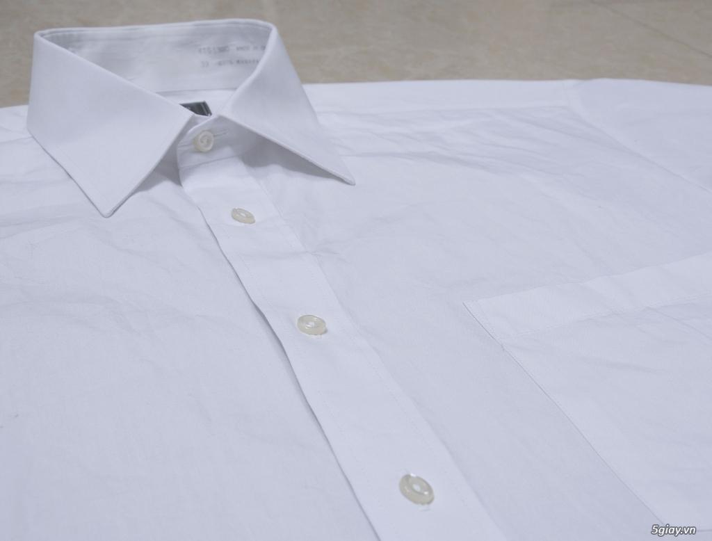 5 áo sơ mi trắng Japan chuẩn công sở mời anh em Bid khởi điểm 120k/ms ET 22h59' - 25/8/2019 - 13
