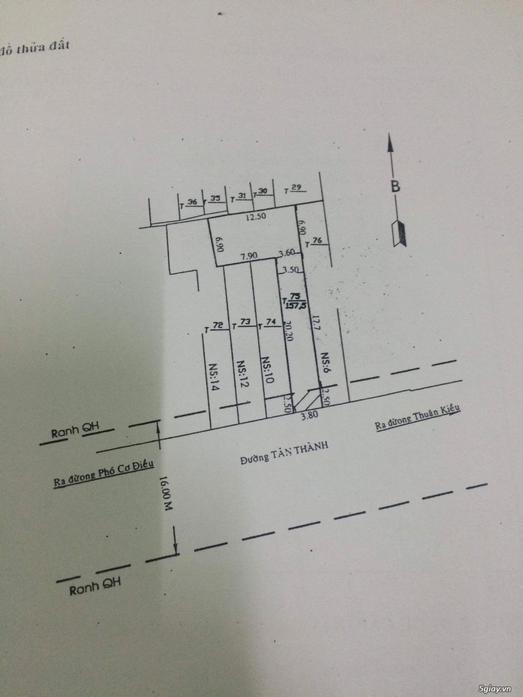 Bán 2 Căn Nhà Mặt Tiền, Số Nhà Lộc Phát, Duy Nhất Q5 - 10