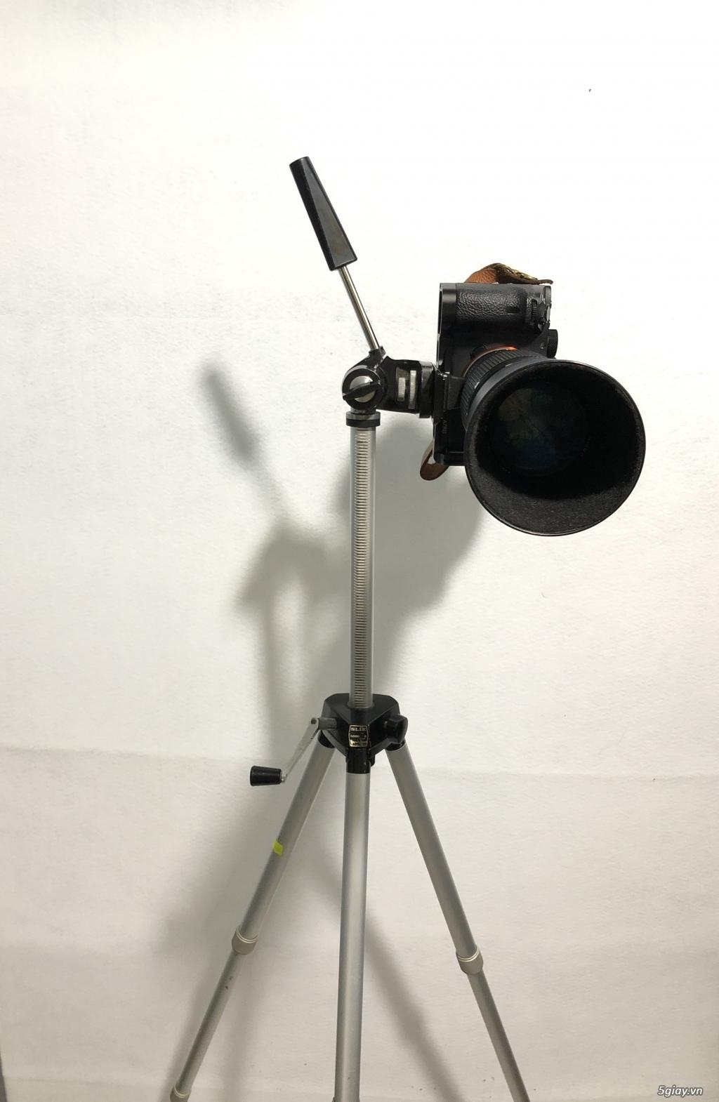 Chân máy ảnh nội địa nhật Slik Handy Goodman full kim loại, tải khủng! - 8